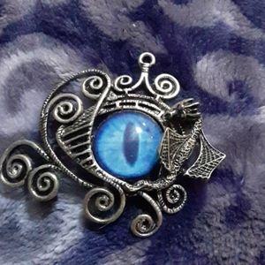 Eye necklace pendant
